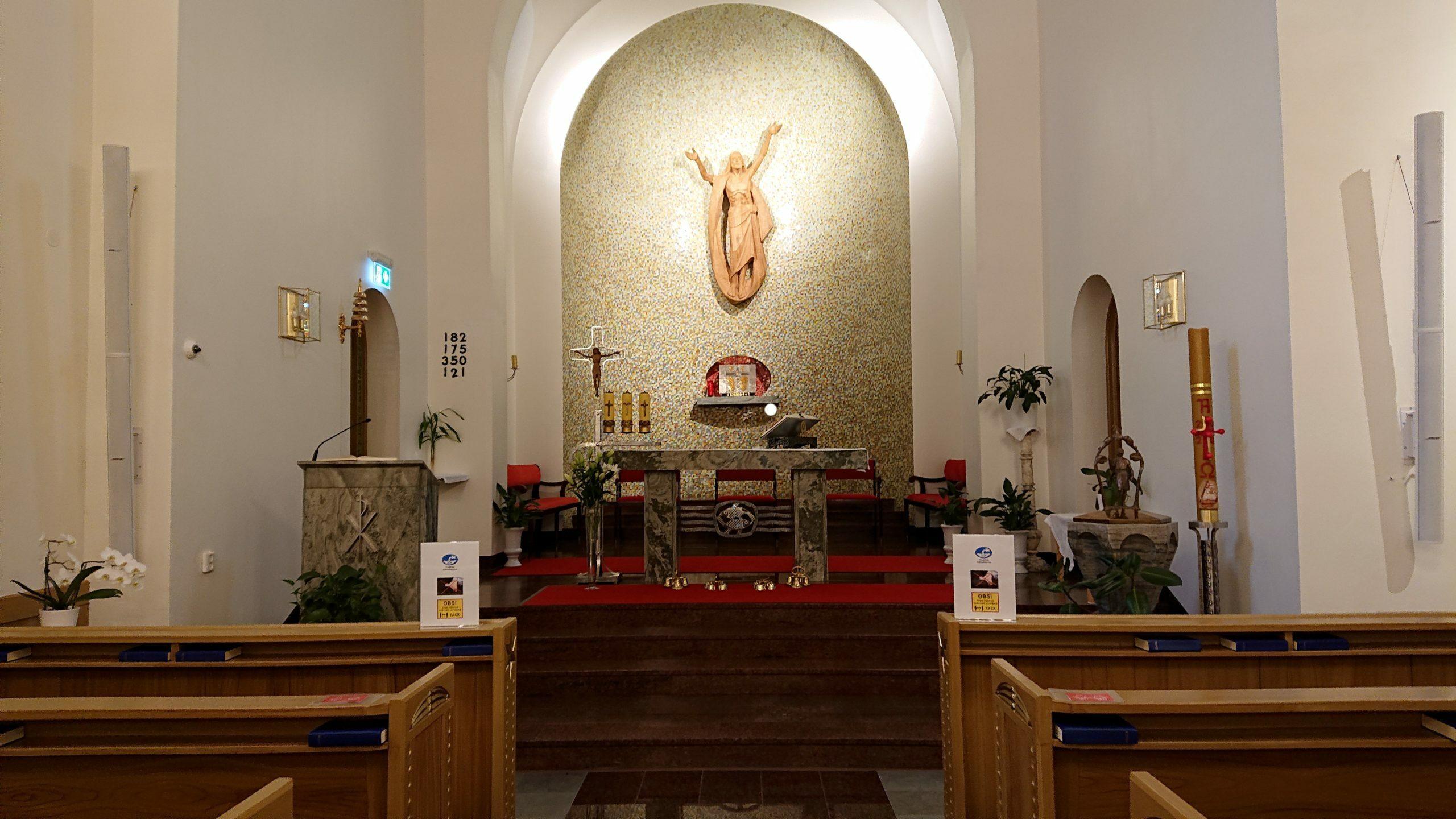 Katolska kyrkan i Norrköping