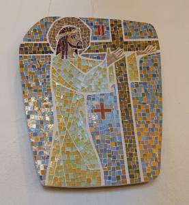 Station II: Jesus tar korset på sig