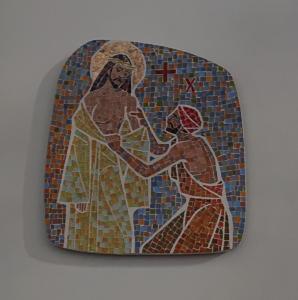 Station X: Jesus blir avklädd