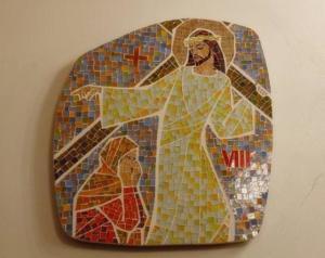 Station VIII: Jesus möter Jerusalems kvinnor